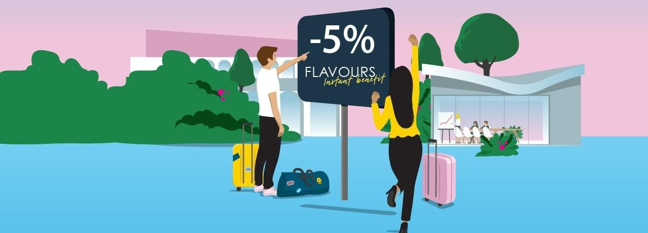 Flavours Instant Benefit Kyriad