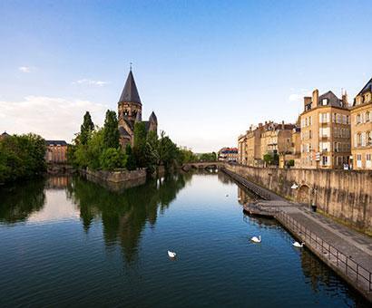 Hôtels Metz Kyriad