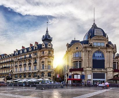 Hôtels Montpellier Kyriad