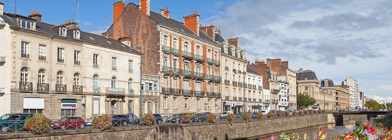 Hôtels Rennes Kyriad