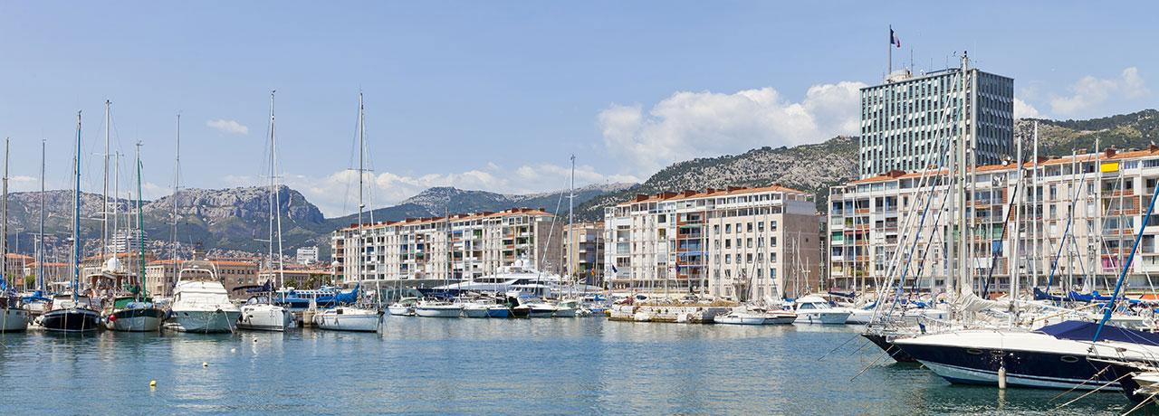 Hôtels Toulon Kyriad