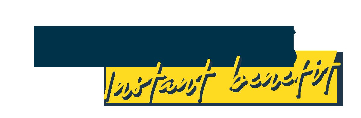 Logo Flavours Instant Benefit