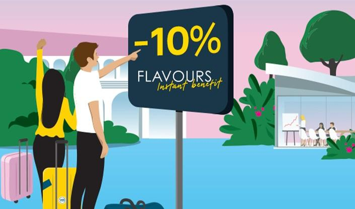 Flavours Instant Benefit Campanile