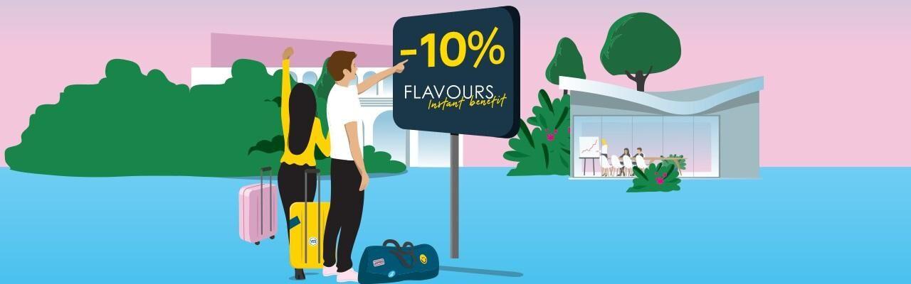 Flavours Instant Benefit Première Classe
