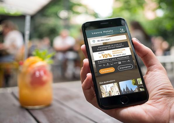 vos offres app louvre hotels group