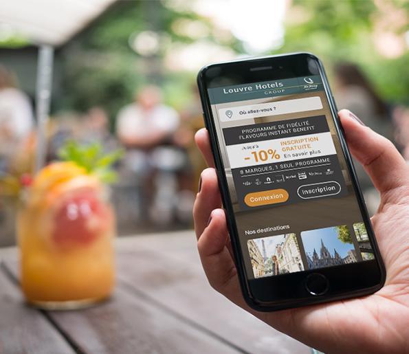 vos offres app louvre hotels group