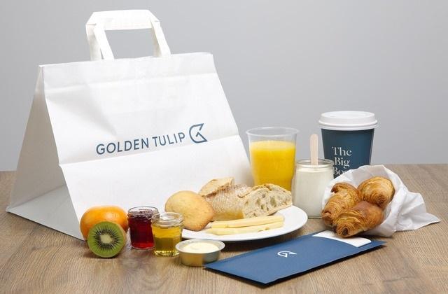 Petits déjeuners dans nos hôtels Golden Tulip