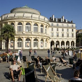 hôtels kyriad rennes opera